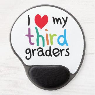 I Heart My Third Graders Teacher Love Gel Mousepads