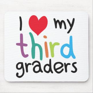 I Heart My Third Graders Teacher Love Mouse Pad