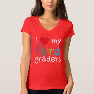 I Heart My Third Graders Teacher Love Shirt