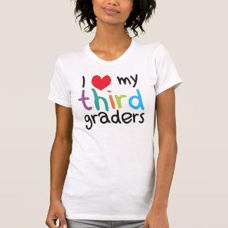 I Heart My Third Graders Teacher Love Tee Shirt