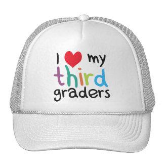 I Heart My Third Graders Teacher Love Trucker Hat