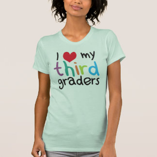 I Heart My Third Graders Teacher Love T Shirt