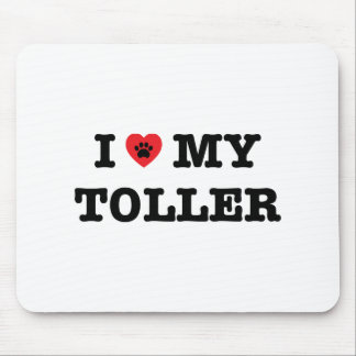 I Heart My Toller Mouse Pad