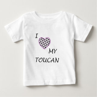 i heart my toucan baby T-Shirt