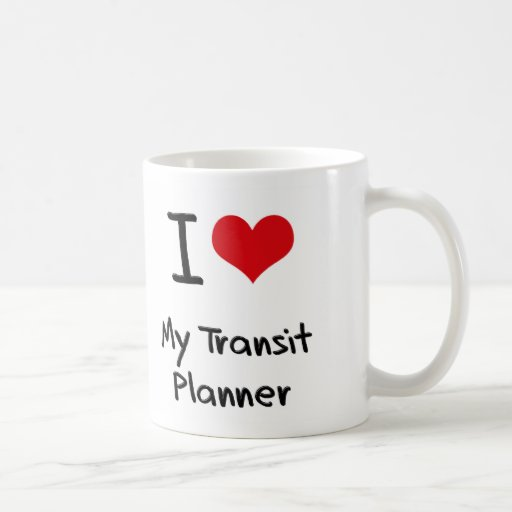 I heart My Transit Planner Coffee Mugs