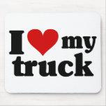 I Heart My Truck Mousepads