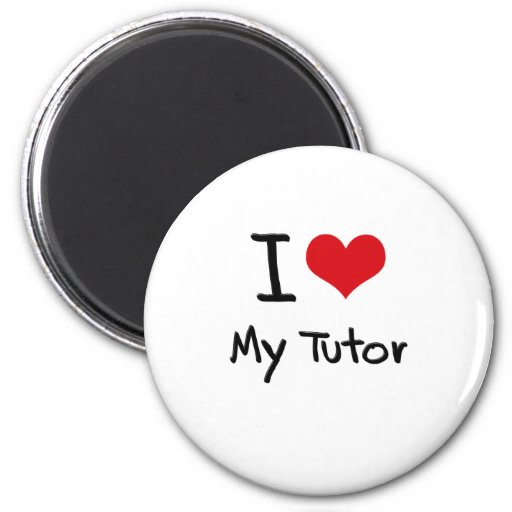 I heart My Tutor Magnet