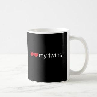 I Heart My Twins Coffee Mug