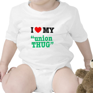 "I Heart My ""Union Thug"" T Shirts"