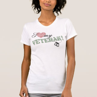 I Heart My Veteran! T-Shirt