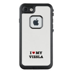 I Heart My Vizsla LifeProof FRĒ iPhone 7 Case