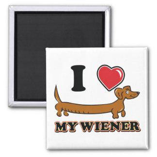 I Heart my Wiener Magnet