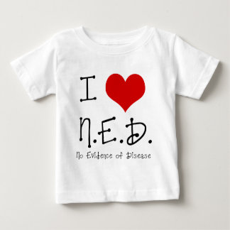 "I ""Heart"" N.E.D. - General Cancer Baby T-Shirt"