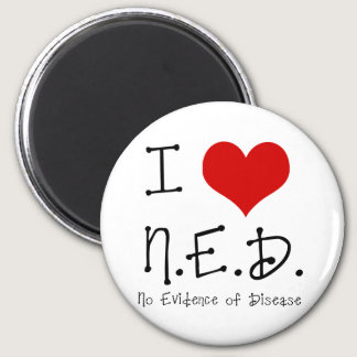 "I ""Heart"" N.E.D. - General Cancer Magnet"