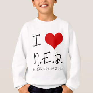 "I ""Heart"" N.E.D. - General Cancer Sweatshirt"
