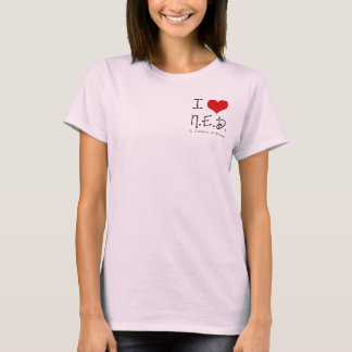 "I ""Heart"" N.E.D. - General Cancer T-Shirt"