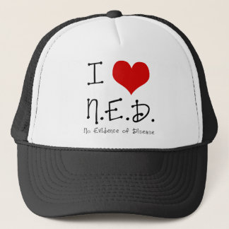 "I ""Heart"" N.E.D. - General Cancer Trucker Hat"