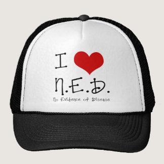 "I ""Heart"" N.E.D. - General Cancer Trucker Hat"