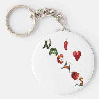 I Heart Nachos Keychain