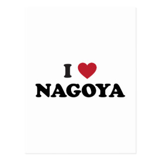 I Heart Nagoya Japan Postcard