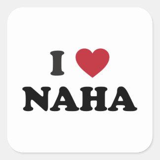 I Heart Naha Japan Sticker