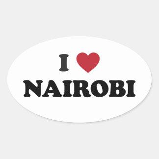 I Heart Nairobi Kenya Sticker