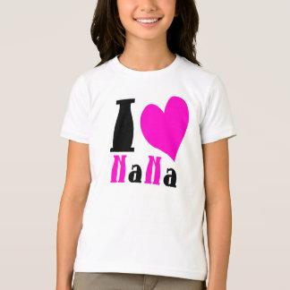 I Heart Nana Pink And Black T-Shirt