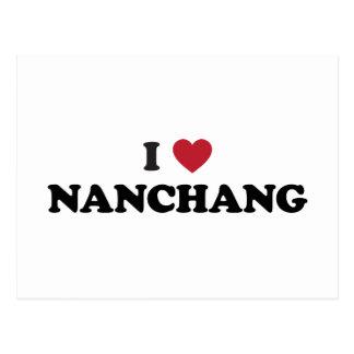 I Heart Nanchang China Postcard