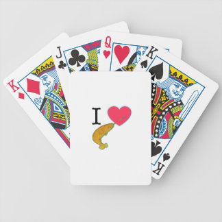 I HEART NARWHALS PLAYING CARDS
