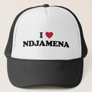 I Heart NDjamena Chad Trucker Hat
