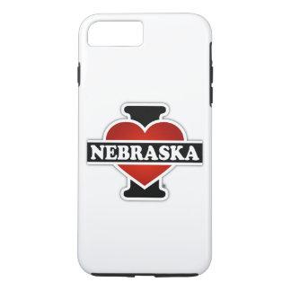I Heart Nebraska iPhone 7 Plus Case