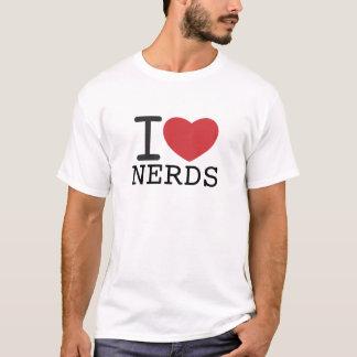 I HEART NERDS customizable T-Shirt