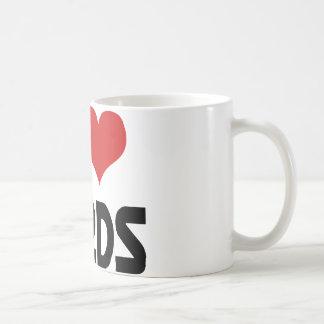 I heart Nerds Classic White Coffee Mug