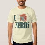 I Heart NERDS T-shirts