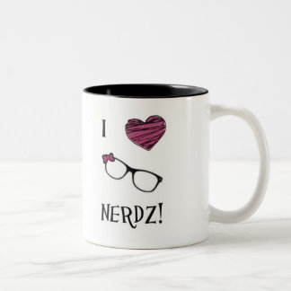 I Heart Nerdz Mug