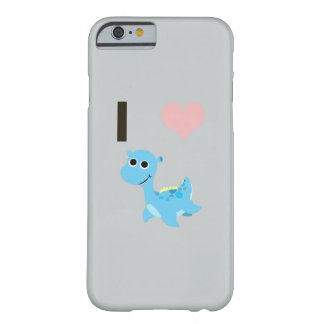 I Heart Nessie Barely There iPhone 6 Case