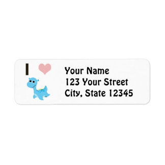I Heart Nessie Label