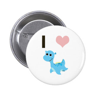 I Heart Nessie Pinback Button