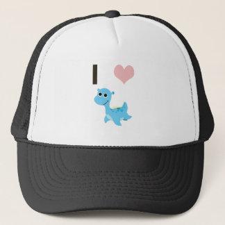 I Heart Nessie Trucker Hat
