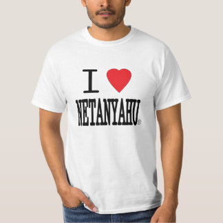 I Heart Netanyahu T-shirts