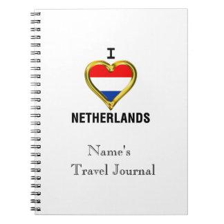 I HEART NETHERLANDS NOTEBOOK