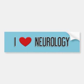 I Heart Neurology Bumper Sticker