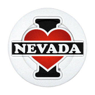 I Heart Nevada Button Covers