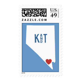 I Heart Nevada - Customizable City Stamp