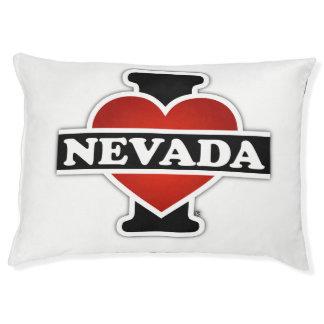 I Heart Nevada Dog Bed