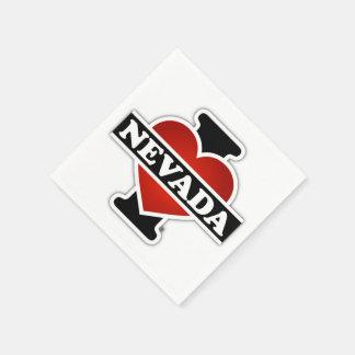 I Heart Nevada Paper Napkin