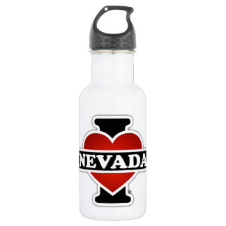I Heart Nevada Stainless Steel Water Bottle