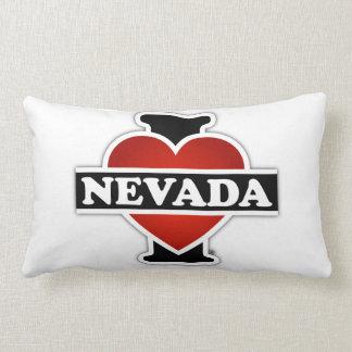 I Heart Nevada Throw Pillow