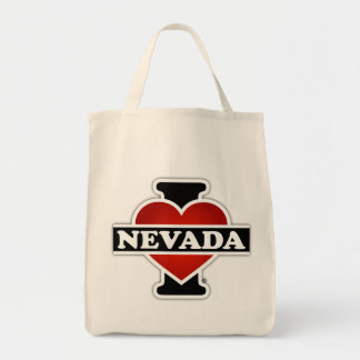 I Heart Nevada Tote Bag