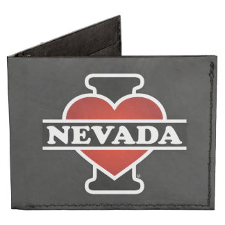 I Heart Nevada Tyvek Wallet